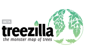 Logo for the Treezilla tree mapping tool